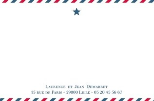 Faire part Cartes de correspondance 6