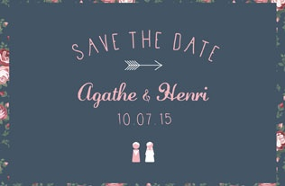 Faire part Save the date 2