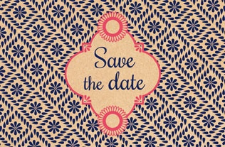 Faire part Save the date 4
