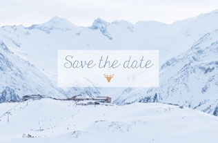 Faire part Save the date 8