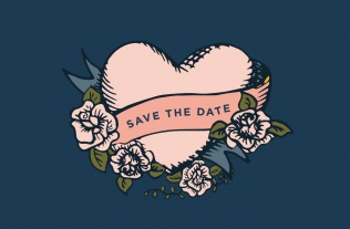 Faire part Save the date 13