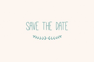 Faire part Save the date 15