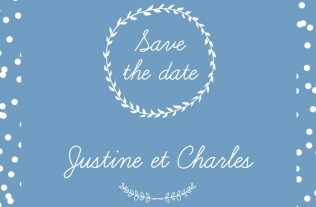 Faire part Save the date 17